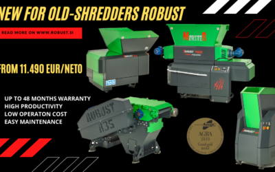 NEW FOR OLD – SHREDDERS ROBUST