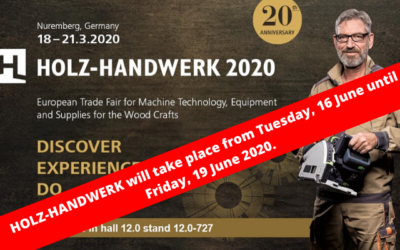 HOLZ-HANDWERK 2020 FAIR
