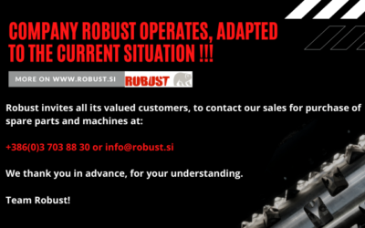 ROBUST COMPANY IS OPERATING