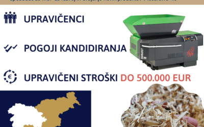 SLOVENSKI PODJETNIŠKI SKLAD RAZPISUJE SPODBUDE ZA RAZVOJ IN UVAJANJE NOVIH PRODUKTOV V LESARSTVU 4.0