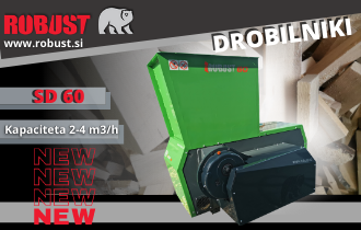 NOVO – INDUSTRIJSKI DROBILNIK ROBUST SD 60